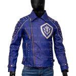 Mens Studded Leather Jacket