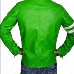 alien swarm ben 10 green leather jacket