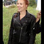 black widow natasha romanoff motorcycle jacket