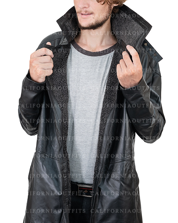 blade runner 2049 ryan gosling long leather jacket