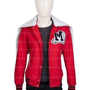 glee cheerios cheerleading red jacket