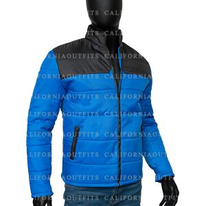 mens-blue-and-black-puffer-jacket
