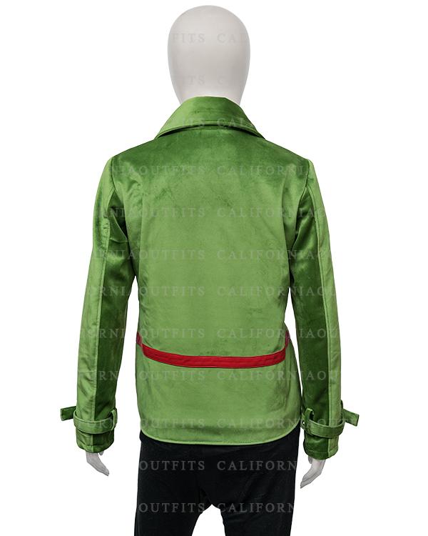 stylish-womens-green-velvet-jacket