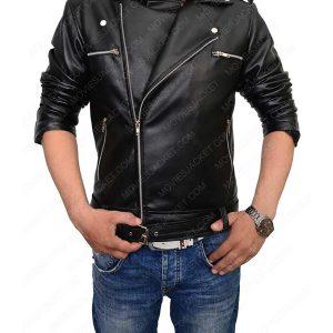 the walking dead negan motorcycle leather jacket