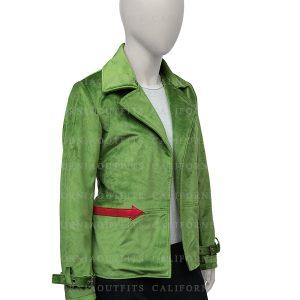 womens-green-velvet-blazer-jacket