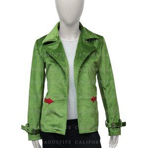 womens-green-velvet-jacket