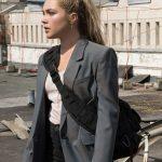 black widow 2021 yelena belova grey blazer