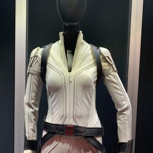 black widow white natasha romanoff leather jacket