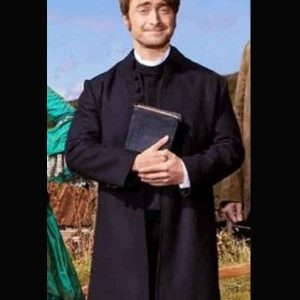 daniel radcliffe miracle workers s03 trench coat