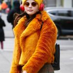 only murders in the building selena gomezas fur jacket