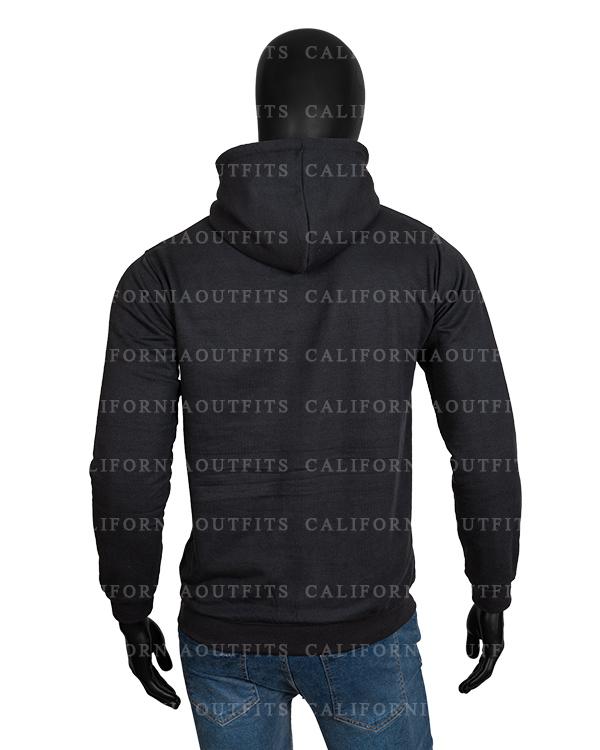 sweet tooth 2021 unisex black hoodie