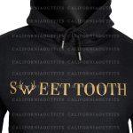 sweet tooth unisex black hoodie