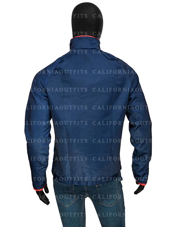 Ted Lasso Jason Sudeikis Blue Track Jacket