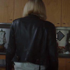 zoe kazan tv series clickbait 2021 leather jacket