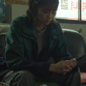 hoyeon jung kang sae-byeok squid game jacket