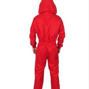 la casa de papel dali red money heist costume jumpsuit