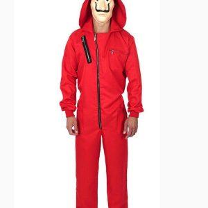 la casa de papel dali red money heist jumpsuit