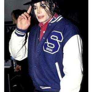 michael jackson sonic the hedgehog blue jacket