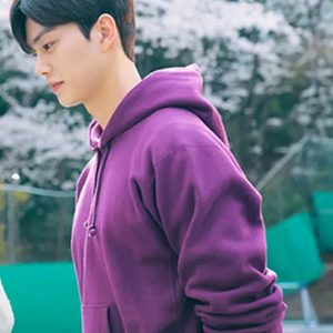 nevertheless song kang purple pullover hoodie