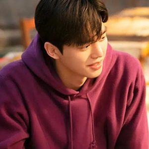 park jae eon nevertheless song kang purple pullover hoodie