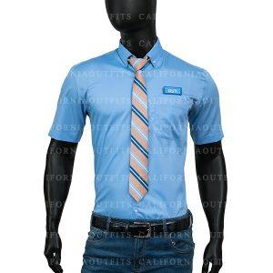 ryan reynolds blue shirt and tie