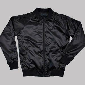 tv series lucifer black bomber rising rainbow jacket