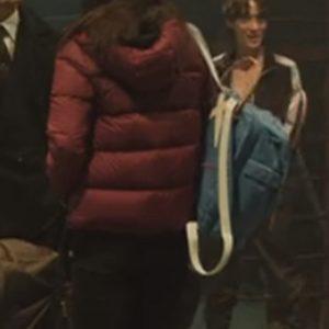 ji-u yun my name so-hee han red puffer jacket