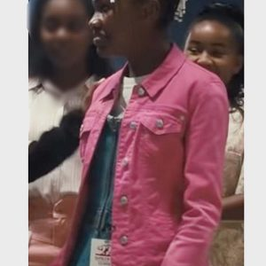 king richard 2021 saniyya sidney pink jacket