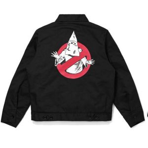 klux buster black cotton jacket