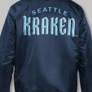 men's seattle kraken starter jacket